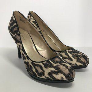BANDOLINO Pumps   Leopard Print   Size 8.5